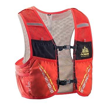 LafyHo 5L Correr al Aire Libre Mochila Mochila hidratación Bolsa de Agua Sport Climbing Camping Trail