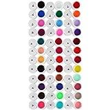 36 Farben Nagelkunst UV Gel reine Farben Design-Auszeichnungen Verlängerungen DIY Tipps Set [version:x8.2] by DELIAWINTERFEL