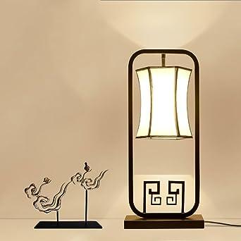 Crayom Neue chinesische Eisen Dekoration Tisch Lampen Schlafzimmer ...