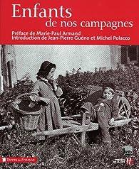 Enfants de nos campagnes par Marie-Paul Armand