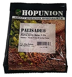 Hopunion US Hop Pellets for Home Brew Beer Making (US Palisade) 1oz