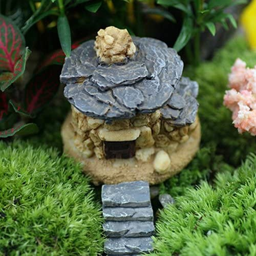 jasminelady Mini Piedra decoración de casa Hada jardín Miniatura Craft Micro Paisaje decoración hogar Craft: Amazon.es: Jardín