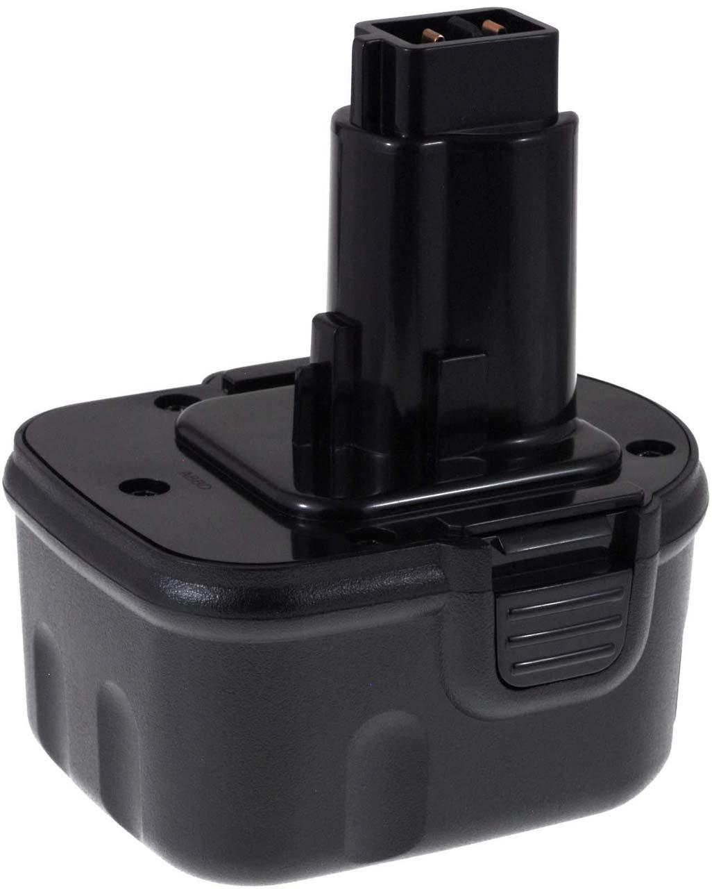 Batteria compatibile per DEWALT tipo DW9072 3000mAh gia. cella, NiMH, 12V, 36Wh, nero