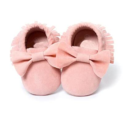 Bluestercool Le lit bébé bowknot Chaussures enfant Sneakers Souliers simple (11CM)