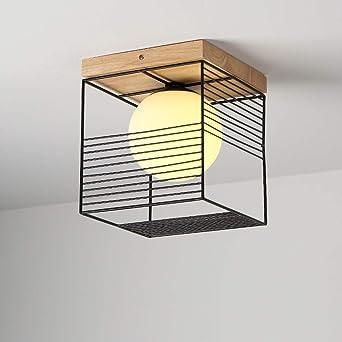 Moderno Simple Lámpara de techo Plafones de techo para Hall ...