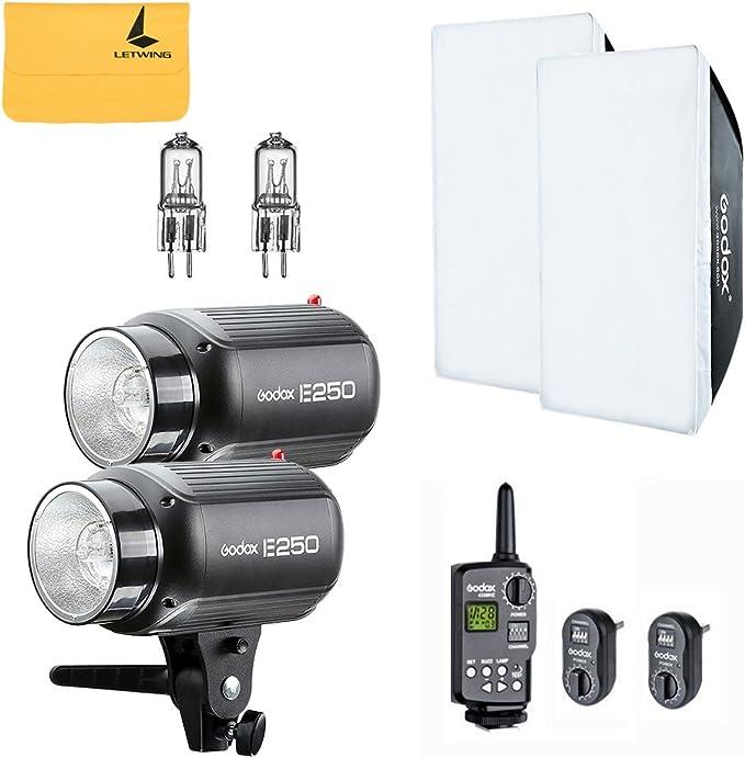 Godox E250 (2) 250W Photo Studio Strobe