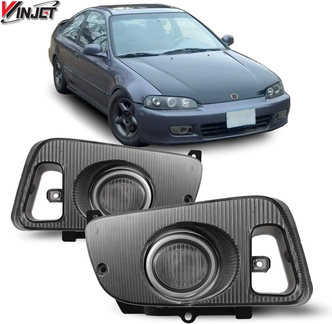 [SCHEMATICS_4LK]  Amazon.com: Winjet OEM Series for [1992 1993 1994 1995 Honda Civic] Driving  Fog Lights + Switch + Wiring Kit (Clear): Automotive | 95 Accord Headlights Wiring Harness |  | Amazon.com