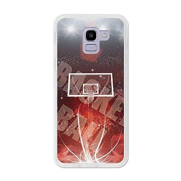 3B Funda Gel para Samsung Galaxy J6 2018 - Baloncesto: Amazon.es ...