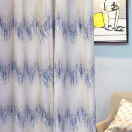 Moderne Modèle de vague Impression Polyester Matériel pour ...