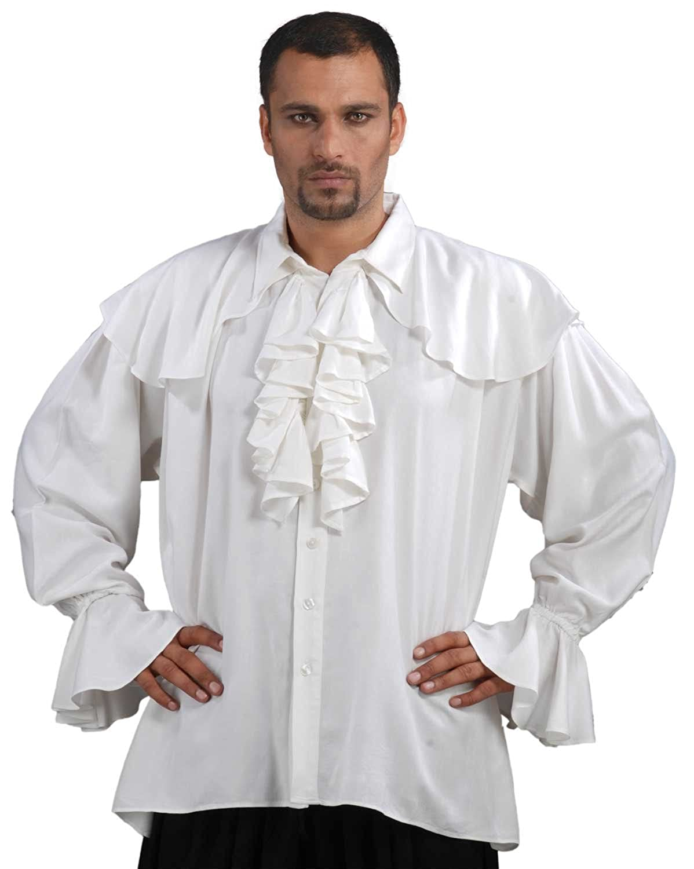 Captain Morgan Pirate lace shirt