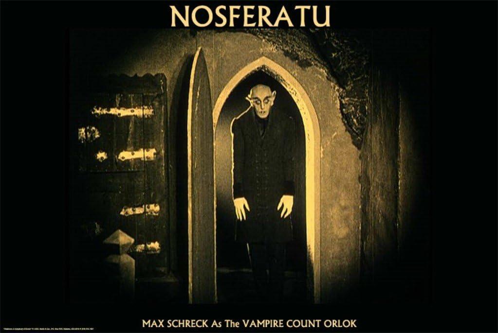 Nosferatu Movie Max Schreck as the Vampire Count Orlok Poster Print - 24x36