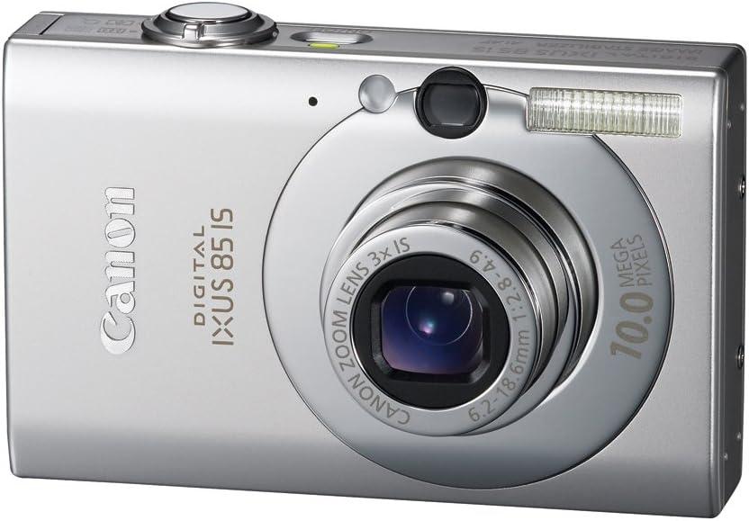 Canon Digital Ixus 85 Is Digitalkamera 2 5 Zoll Silber Kamera