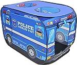 Tente garçon voiture de police