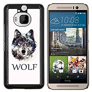 "For HTC One M9+ M9 Plus , S-type LOBO"" - Arte & diseño plástico duro Fundas Cover Cubre Hard Case Cover"