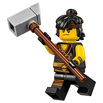 The Lego Ninjago Movie Minifigure: Cole with Hammer, Building Sets ...