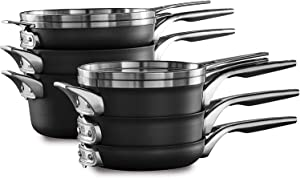 Calphalon Premier Space Saving Nonstick 10 Piece Set