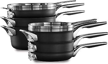 Calphalon Premier Nonstick Cookware Sets