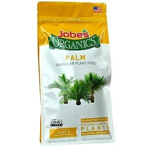 Jobe's Organics 09126 Palm Tree Granular Plant Food