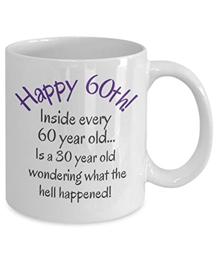 60th Birthday Gifts For Women Men Mom Dad Fun Christmas Gag Gift