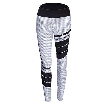 Amazon.com: Autumn Winter Women Sports Pants Letters Spot ...