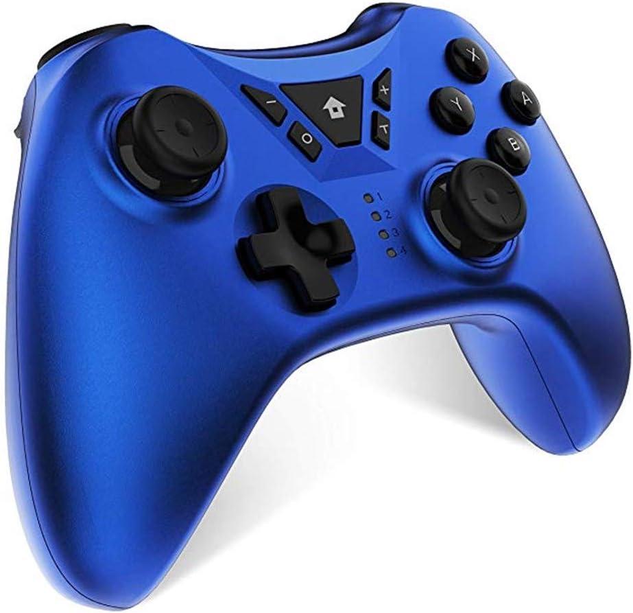 WPSTGB Controlador PS Juego, Gamepad Inalámbrico Bluetooth, Compatible con Playstation 4 PS4 Doble Vibración De Seis Ejes del Gamepad del Bluetooth Remoto