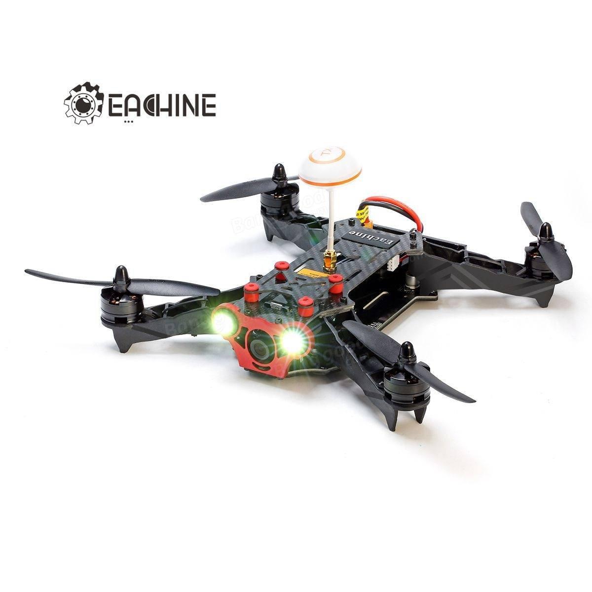 PhilMat Eachine racer 250 drone FPV construida en 5.8 g transmisor ...