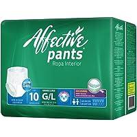 Affective - Ropa Interior para Adultos, Unisex, Talla Grande, 60 piezas (Empaque Puede Variar)
