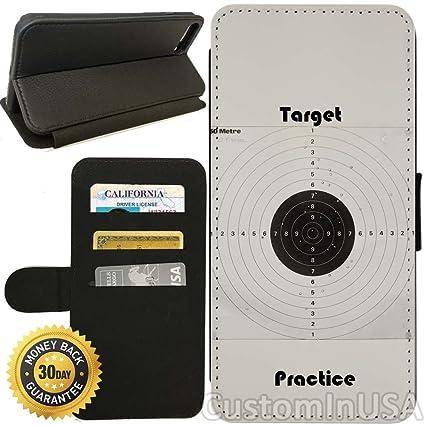 buy online d5a06 37914 Amazon.com: Flip Wallet Case for iPhone 8 Plus (Target Practice ...