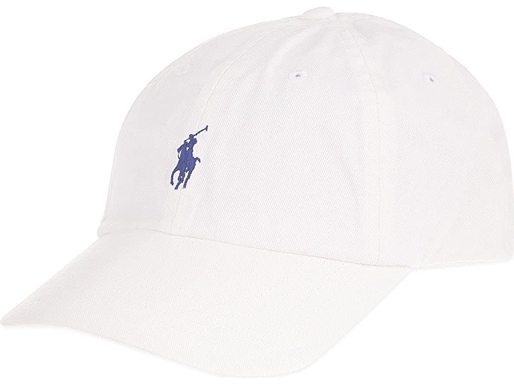 Polo by Ralph Lauren Baseball Cap White