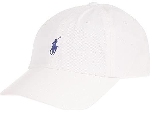 Image Unavailable. Image not available for. Colour  Polo by Ralph Lauren  Baseball Cap White b19f7810817