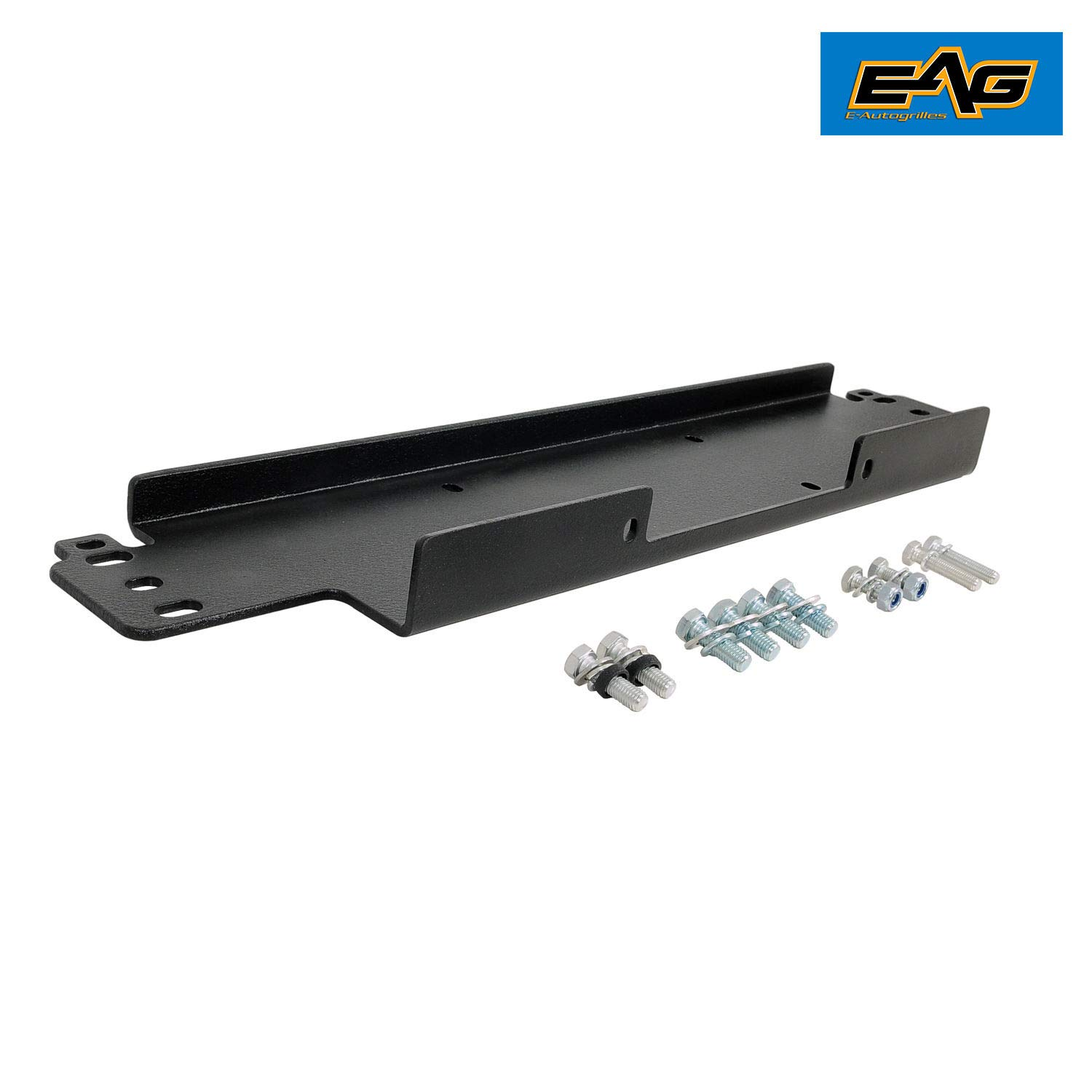EAG Winch Mounting Plate 12000 lbs Capacity Fit for 87-06 Jeep Wrangler TJ//YJ