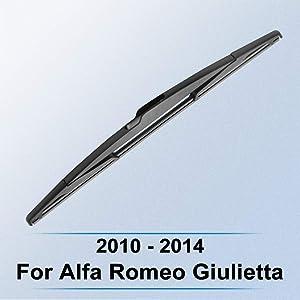 WQSNUB Rear Wiper Blade,for Alfa Romeo Giulietta 2010 2011 2012 2013 2014