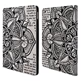 Head Case Designs Paper Mandala Doodles Leather Book Wallet Case Cover for Apple iPad Air 2