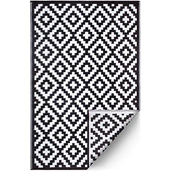Amazoncom Fh Home Indooroutdoor Recycled Plastic Floor Matrug