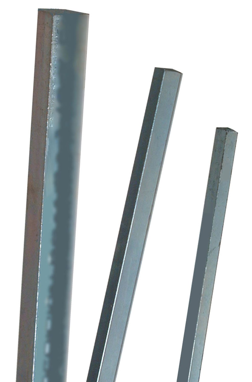 Precision Brand 04247 Square Metric Keystock 14 mm Plain Finish 1 m Length Cold Drawn Steel