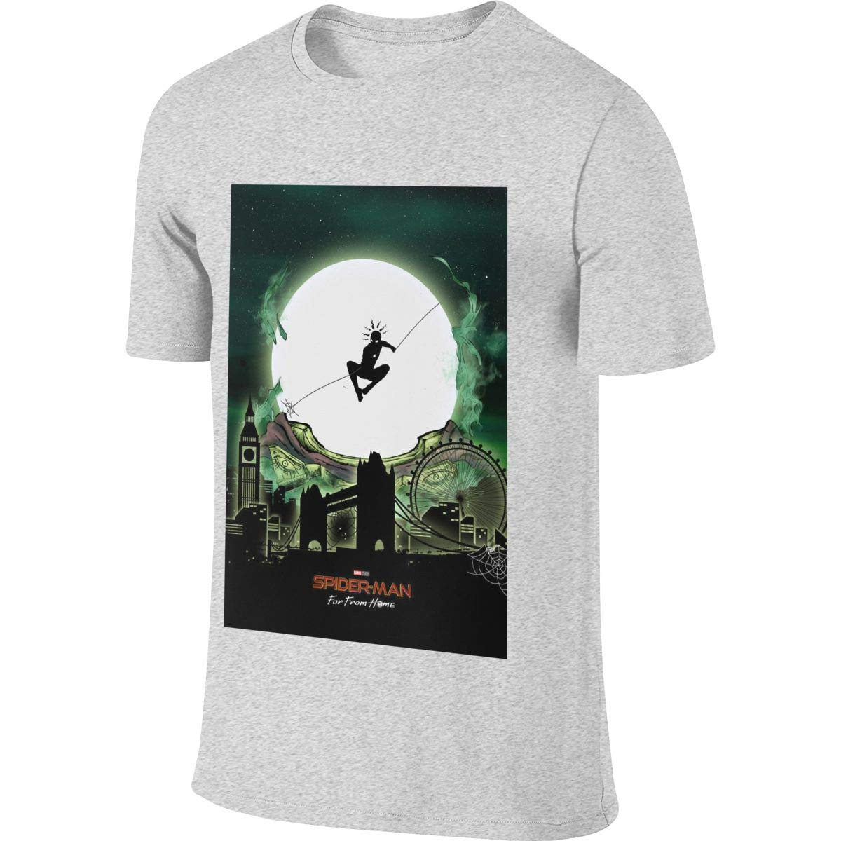 SHENGN Mens Personalized New Tees Spider Man Peter Parker Tshirts