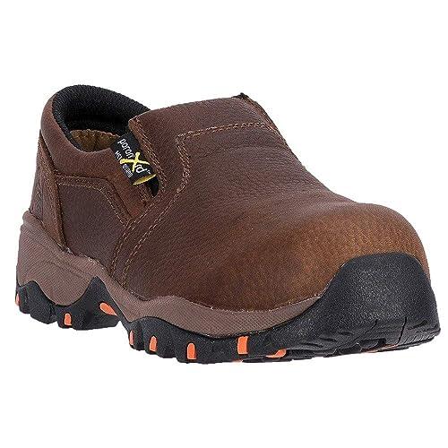 1896b5f6f9d MCRAE Womens Non-Metallic Poron XRD Metatarsal Guard Composite Toe  Work/Duty Shoes,