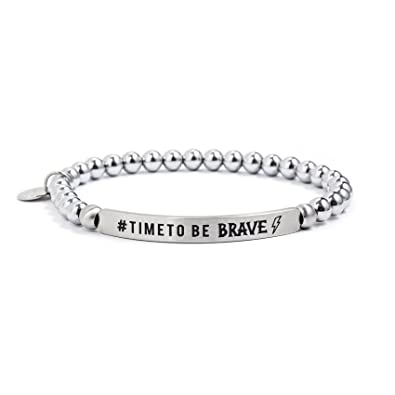 72878a6a314b Pulsera para hombre joyas marlù   Time To Be Brave Casual Cod.18br114-l   Amazon.es  Joyería
