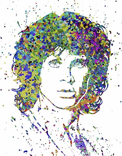 Morrison Portrait Jim (Studio Jives... CUSTOM JIM MORRISON PORTRAIT ~ Decorative Art Print. (8
