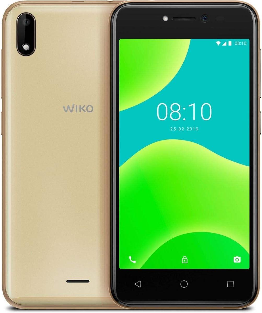 Wiko Y50 - Smartphone (SIM Doble, 8 GB, 5 Pulgadas), Color Dorado ...