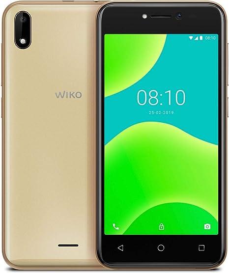 Wiko Y50 - Smartphone (SIM Doble, 8 GB, 5 Pulgadas), Color Dorado: Amazon.es: Electrónica