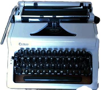 Maquina de escribir ERIKA _ Ref. 19