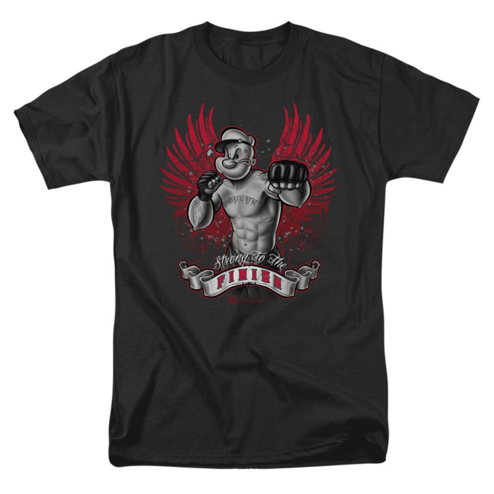Popeye S Undeted T Shirt Black