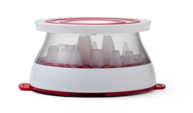 Amazon.com: Chef\'n Turntable Rotating Cake Stand Decorating Kit ...
