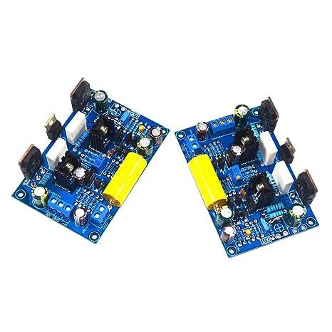 Baoblaze 2 Piezas Clase A Amplificador de Potencia Módulo FET Amplificador Digital de Altavoz de 100