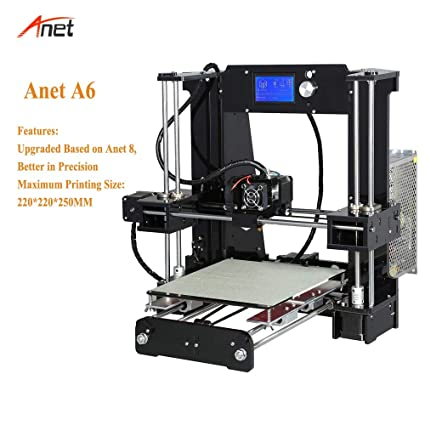 Amazon.com: Anet A6 Acrylic Lead Screw Impressora 3D Best ...