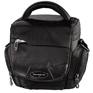 "Samsonite ""Trekking DLX 100 Colt"" Camera Bag - Funda (Negro, 470 g, 135 x 95 x 140 mm)"