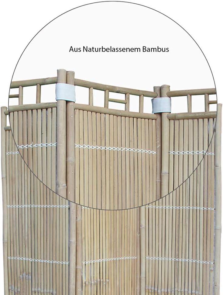 Eliware Tradicional biombos de bambú Madera, 130 x 180 cm: Amazon ...