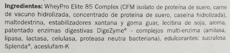 Amix Wheypro Elite 85, Proteínas, 2300 g: Amazon.es: Salud y cuidado ...