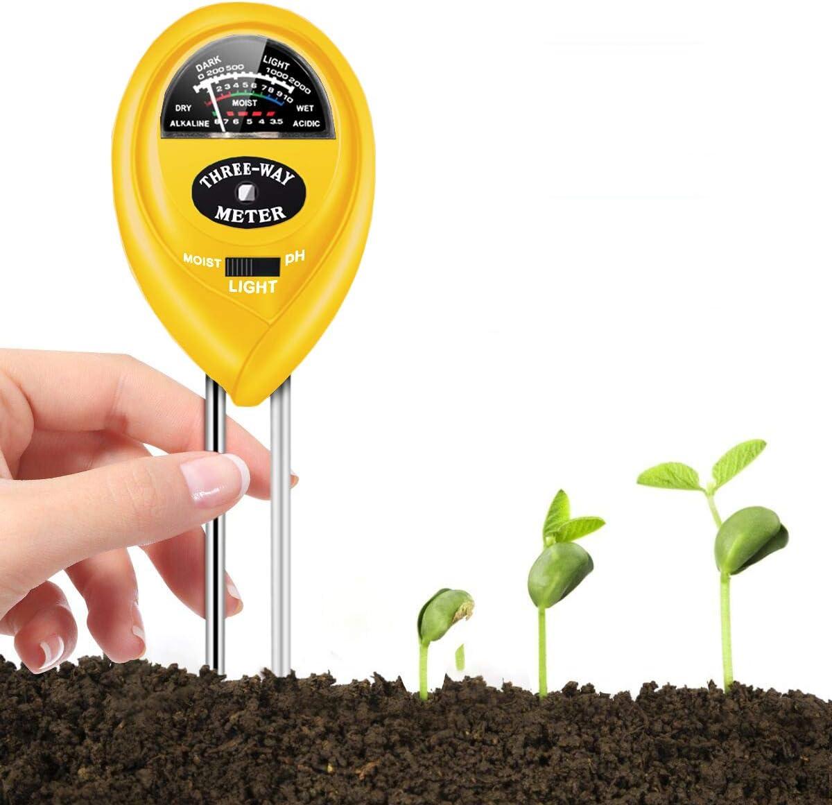 Safe2m Three-Way Soil Moisture Meter